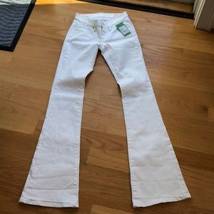 Lilly Pulitzer worth flare white jean size 00